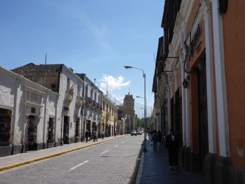 Santa Catalina street, Arequipa