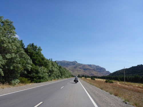 Ruta 40 south towards San Martin de los Andes