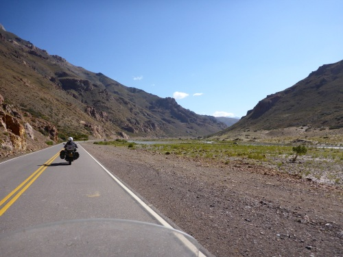 The ride up to Paso Pehuenche from Las Loicas is  amazing