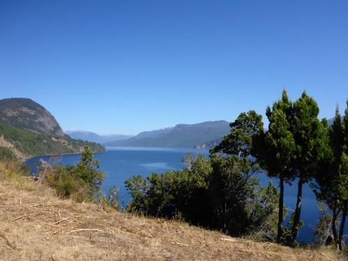 Lácar lago outside San Martin de los Andes