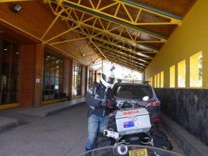 Mamuil Malal Chilean border crossing