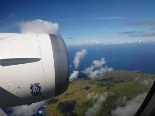 Rano Kau volcano, SW of Easter Island