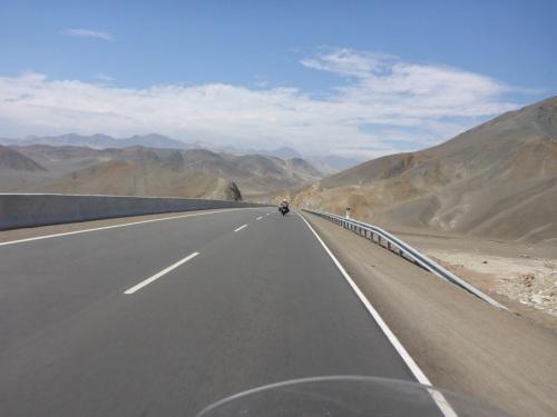 Panamericana Norte half way between Lima and Trujillo