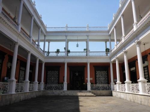 Trujillo typical courtyard