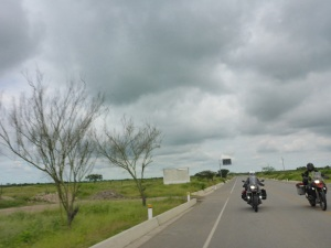 Great riding with Kristjan again