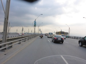 Bridge into Guayaquil across the Rio Babahoyo