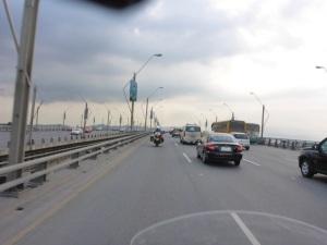 Bridge into Guayaquil across the Rio Babahoyo