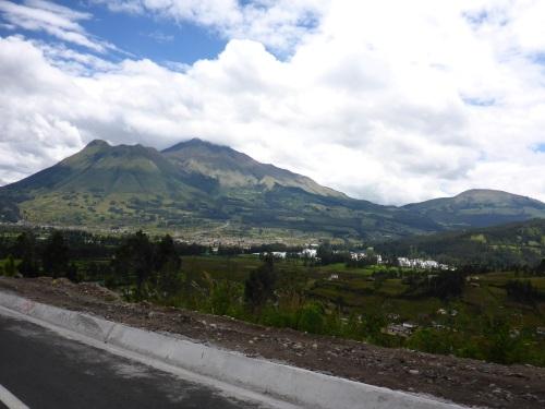 Heading to Otavalo, Ecuador