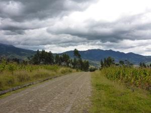 Outside Otavalo, Ecuador