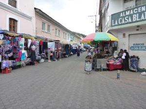 Local market in Otavalo, Ecuador