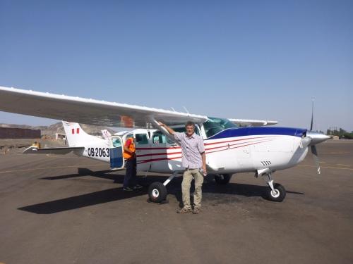 OB-2063  a Cessna 207 of AeroNasca