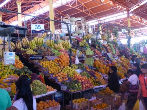 Arequipa San Camilo market