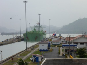 Tankers nowadays make full use of the Panamax limits