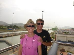 Enjoying the Panama Canal
