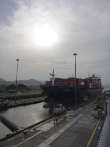 Container ship, Panama Canal