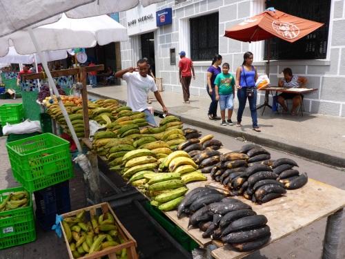 Banana seller, Panama City
