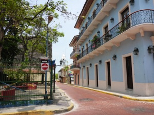 The original Panama City, restored