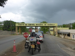 Just another customs check, 150kms from the border