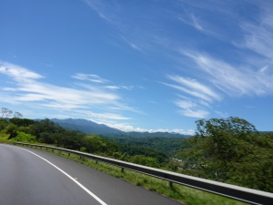 Coming up to San Jose, Costa Rica