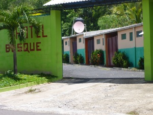 Typical Central America Auto Motel