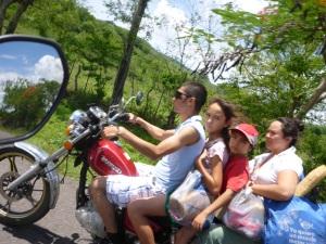 Guatamelan family