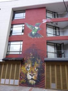 La Candelaria graffiti, Bogota, Colombia