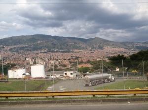 Medellin suburbs