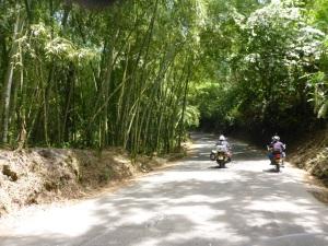 Road to Parque del Cafe, Montenegro, Colombia