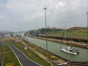 Boats of all sizes use the Panama canal