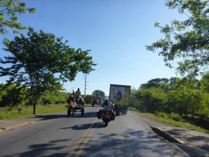 Leaving Chinandega, Nicaragua