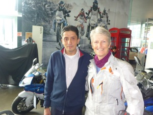 Jaciel, Motorrad Service Manager of BMW Santa Fe, Mexico City
