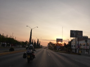 Leaving San Luis Potosi at 7am