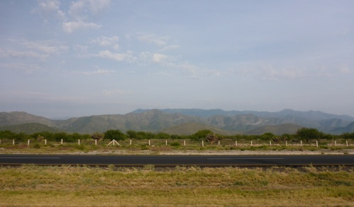 Stunning mountain range an hour and a half out of San Luis Potosi