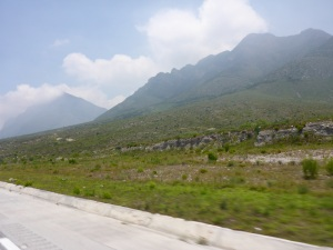 Coming into Monterrey