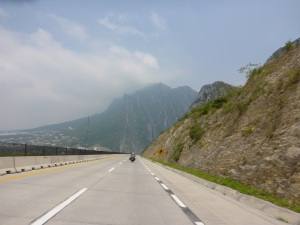 On the outsgkirts of Monterrey