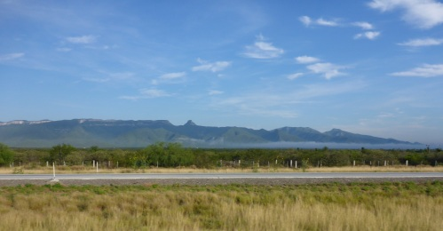 An hour north of Monterrey, reminds us of Cape Town again
