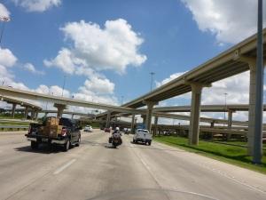 Texas highway interchange