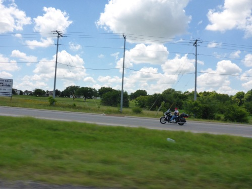 Riding at 100kms/hr without a helmet is so cool if nothing goes wrong...