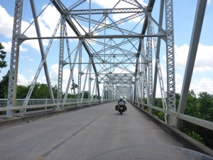 Crossing the Colorado River at La Grange