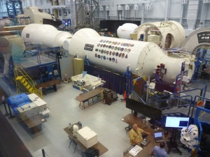 Nasa space vehicle mockup facility