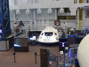 The new Orion spacecraft being developed