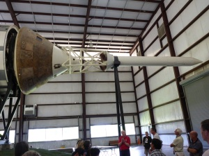 Saturn V rocket capsule