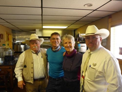 Oldham County Sheriff David Medlin and Texas Ranger Martin  T. Hood