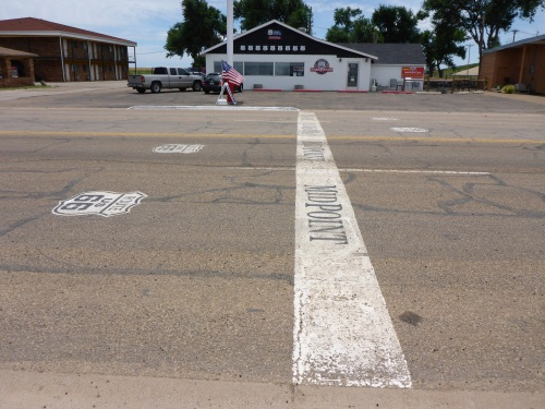 Midpoint of Route 66.