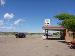 Finally a petrol station on Route 66 which is still open