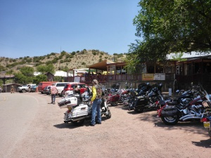 At Madrid's Mine Shaft Tavern, New Mexico