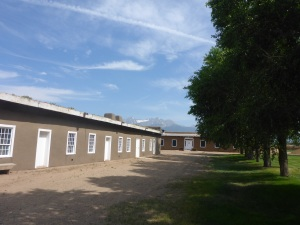 Fort Garland barracks block