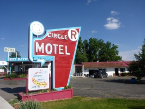 Our motel in Salida