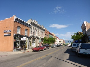 East 1st Street in Downtown Salida, Colorado