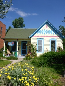 Colourful house, Salida Colorado